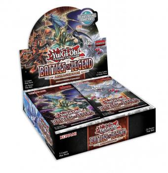 Battles of Legend: Armageddon Booster Display - Yu-Gi-Oh!