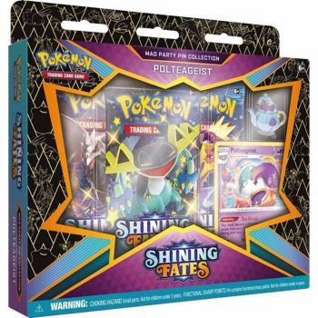 Pokémon Shining Fates Mad Party Pin Collection Polteageist