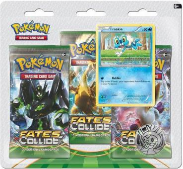 Pokémon XY Fates Collide Froakie Collection Blister