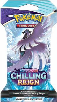 Pokémon Sword & Shield Chillling Reign Sleeved Booster