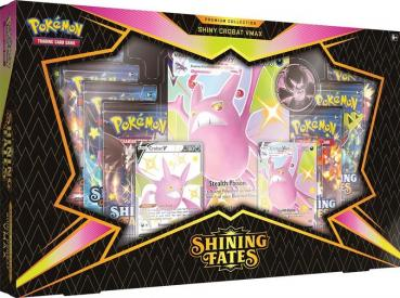 Pokémon Shining Fates Crobat VMAX Premium Collection Box