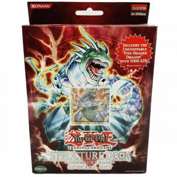 Structure Deck: Dinosaur's Rage Special Set (Five-Headed Dragon + Booster) - Yu-Gi-Oh!