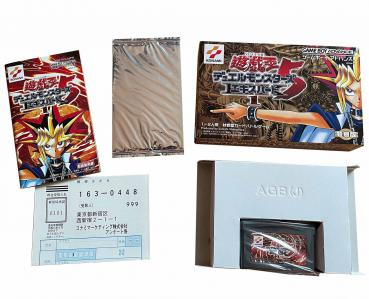 Yu-Gi-Oh! Duel Monsters 5 Expert 1 Game Boy Advance 2001 Japanese Sealed Promo NEW - JP