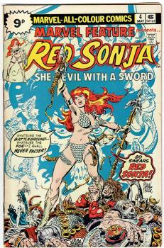 Marvel Feature #4 Red Sonja
