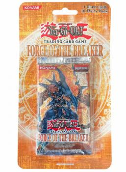 Force of the Breaker Booster Blister 1st Edition (Sealed) - Yu-Gi-Oh!