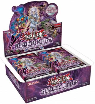 Legendary Duelist Immortal Destiny Booster Display - Yu-Gi-Oh!