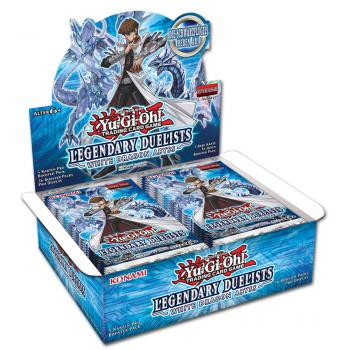 Legendary Duelist: White Dragon Abyss Booster Display - Yu-Gi-Oh!