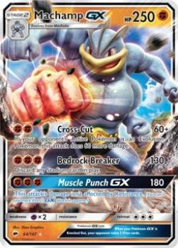 Machamp GX 64/147 - Pokémon TCG