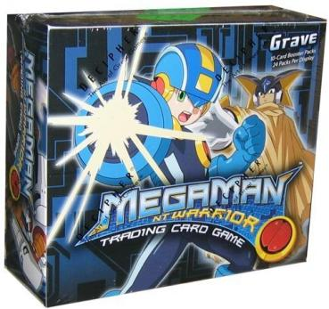 MegaMan NT Warrior TCG Grave Booster Box​