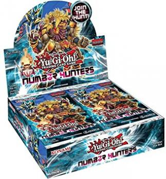 Number Hunters Booster Display - Yu-Gi-Oh!