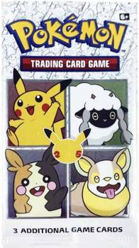 Pokémon 25th Anniversary General Mills 2021 Promo Booster