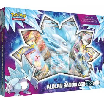 Pokémon Alola Sandamer GX Collection Box