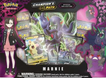Pokémon Champion's Path Marnie Special Collection Box