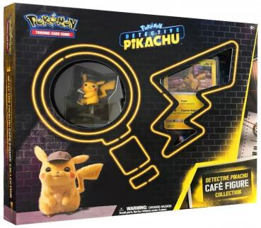 Pokémon Detective Pikachu Café Figure Collection Box