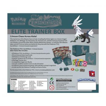 Pokémon Elite Trainerbox Sun & Moon Crimson Invasion