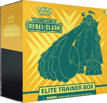 Pokémon Elite Trainerbox Sword & Shield Rebel Clash