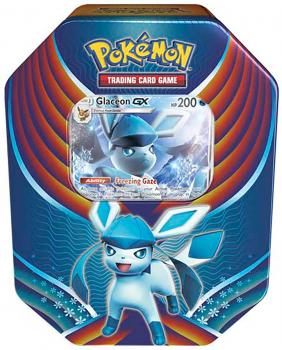 Pokémon Glaceon-GX Tin Box