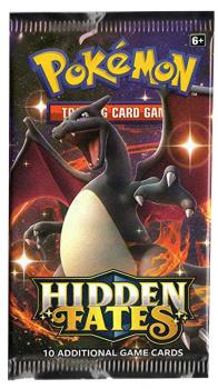 Pokémon Hidden Fates Booster