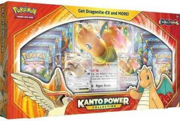 Pokémon Kanto Power Collection Box Dragonite EX & Pidgeot EX