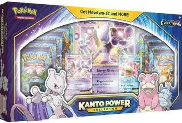 Pokémon Kanto Power Collection Box Mewtwo EX & Slowbro EX