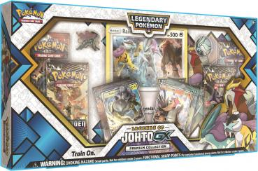 Pokémon Legends of Johto GX Premium Collection Box