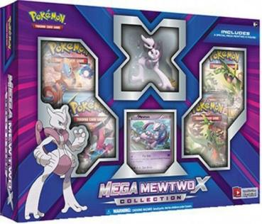 Pokémon Mega Mewtwo X Collection Box