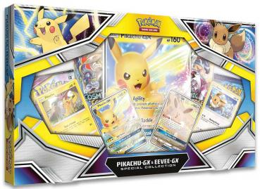 Pokémon Pikachu GX & Evoli GX Collection Box