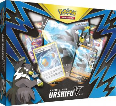 Pokémon Rapid Strike Urshifu V Collection Box