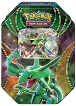 Pokémon Rayquaza-EX Tin Box