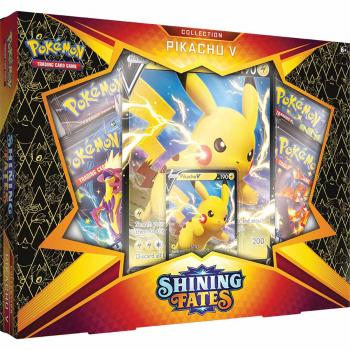 Pokémon Shining Fates Pikachu V Collection Box