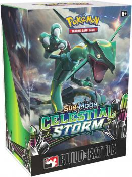 Pokémon Sun & Moon Celestial Storm Build & Battle Prerelease Kit