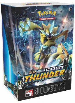Pokémon Sun & Moon Lost Thunder Build & Battle Prerelease Kit