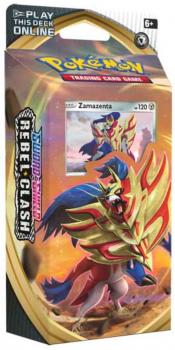 Pokémon Sword & Shield Rebel Clash Zamazenta Theme Deck