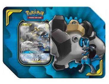 Pokémon TAG TEAM Lucario & Melmetal GX Tin Box