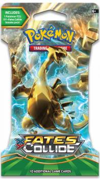 Pokémon XY Fates Collide Sleeved Booster