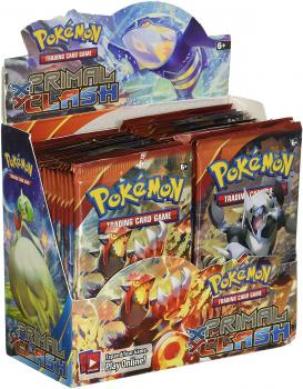 Pokémon XY Primal Clash Booster Display