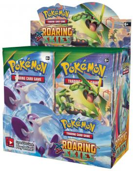 Pokémon XY Roaring Skies Booster Display