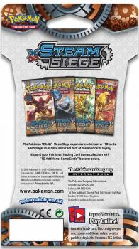 Pokémon XY Steam Siege Sleeved Booster
