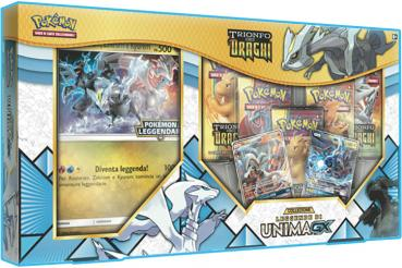Pokémon Dragon Majesty Legends of Unova GX Collection Box