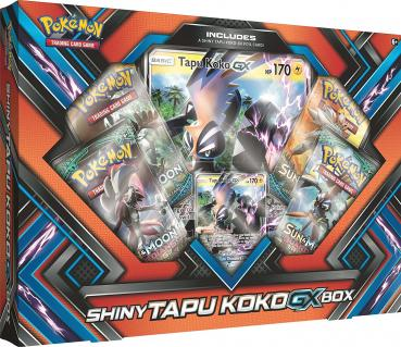 Pokémon Shiny Kapu-Riki GX Collection Box