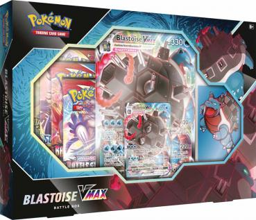 Pokémon Blastoise VMAX Battle Box