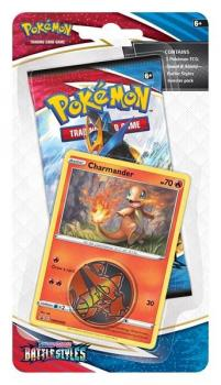 Pokémon Sword & Shield Battle Styles Charmander Checklane Blister