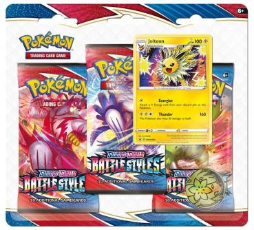 Pokémon Sword & Shield Battle Styles Jolteon Collection Blister