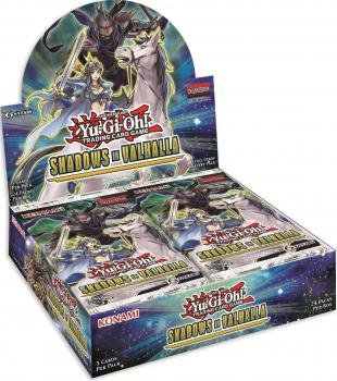 Shadows of Valhalla Booster Display - Yu-Gi-Oh!