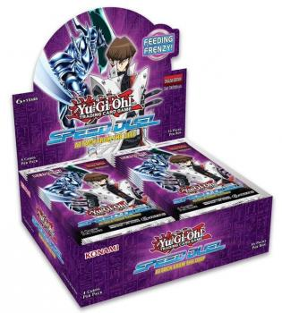 Speed Duel: Attack from the Deep Booster Display - Yu-Gi-Oh!