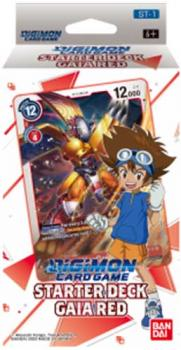 Starter Deck Gaia Red ST-1 - Digimon Card Game