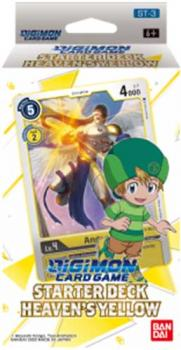 Starter Deck Heaven's Yellow ST-3 - Digimon Card Game