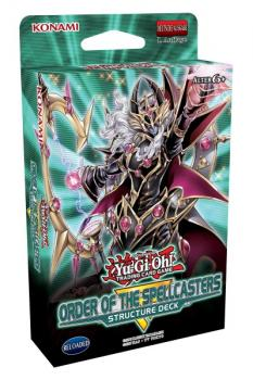 Structure Deck: Order of the Spellcasters - Yu-Gi-Oh!