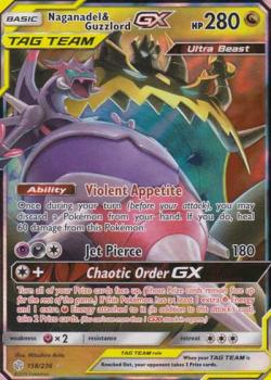 TAG TEAM Agoyon & Schlingking-GX - Pokémon TCG