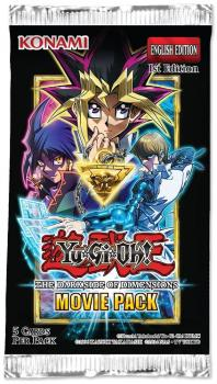The Darkside of Dimensions: Movie Pack Gold Edition Booster - Yu-Gi-Oh!